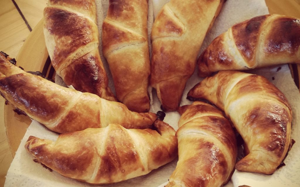Mini croissants au Nutella® express