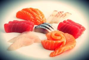sushis sashimis