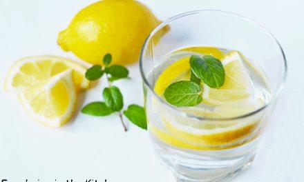 Eau rafraichissante, hydratante et santé
