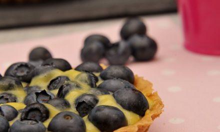 Tartelettes aux myrtilles et lemon curd