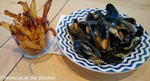 moules marinières frites