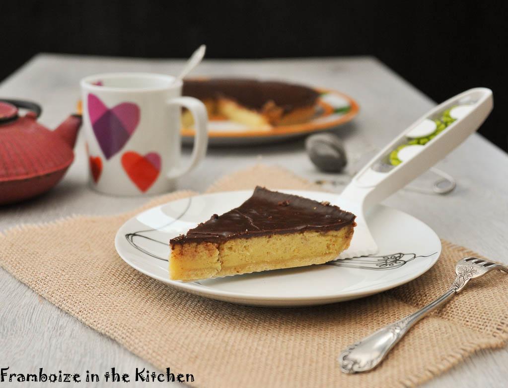 tarte au chocolat et poudre d amandes recettes simples et faciles de framboize. Black Bedroom Furniture Sets. Home Design Ideas