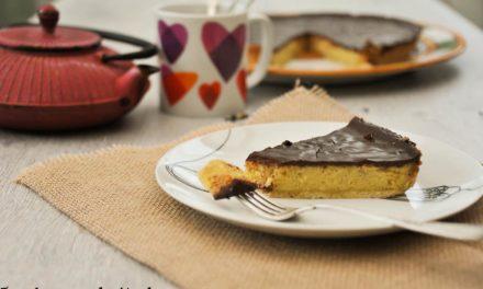 Tarte au chocolat et poudre d'amandes