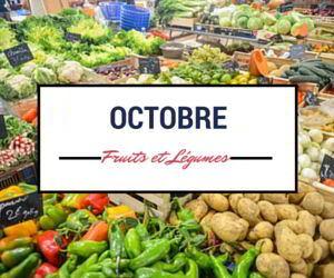 Calendrier des fruits et légumes d'octobre