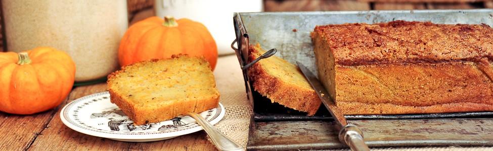 Cake sucré au potiron