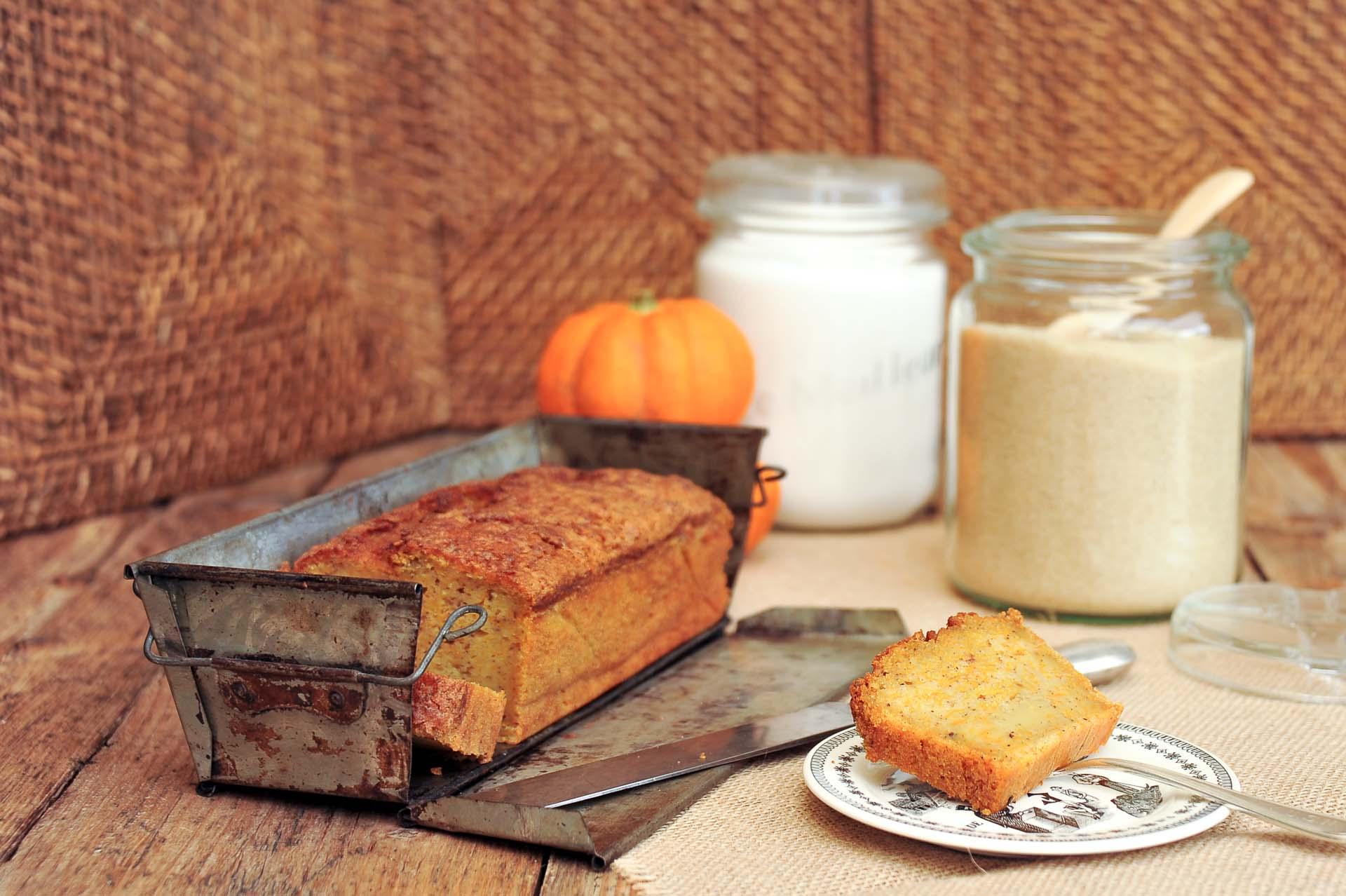 recette de Mon délicieux cake sucré au potiron