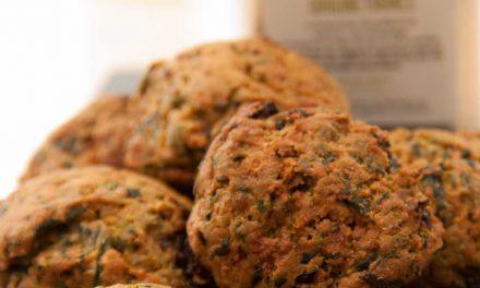 Mes cookies au légumes et huile d'olive