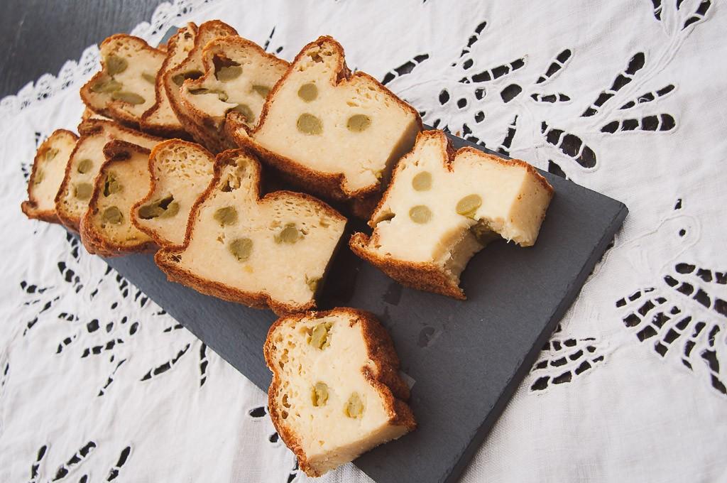 Cake salé aux asperges vertes