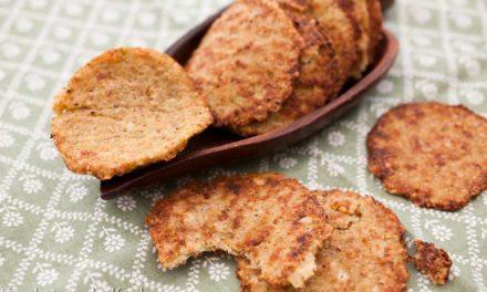 Tuiles de fromage Ossau Iraty et chou romanesco