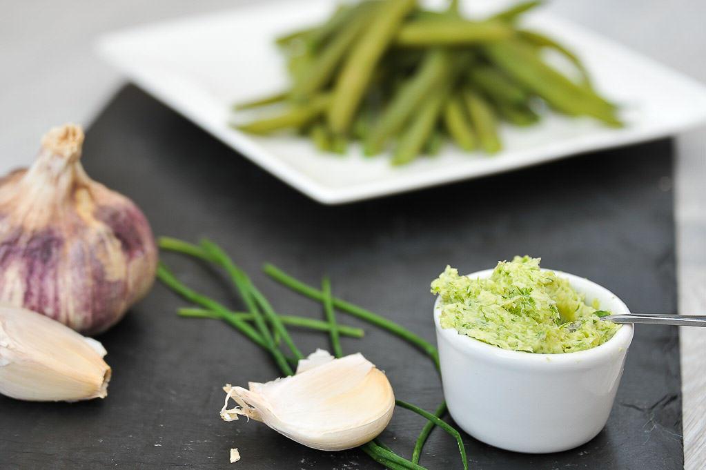 Beurre d 39 ail et beurre aux piment d espelette pour - Comment congeler les haricots verts du jardin ...