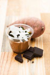 Crème au chocolat patate-douce
