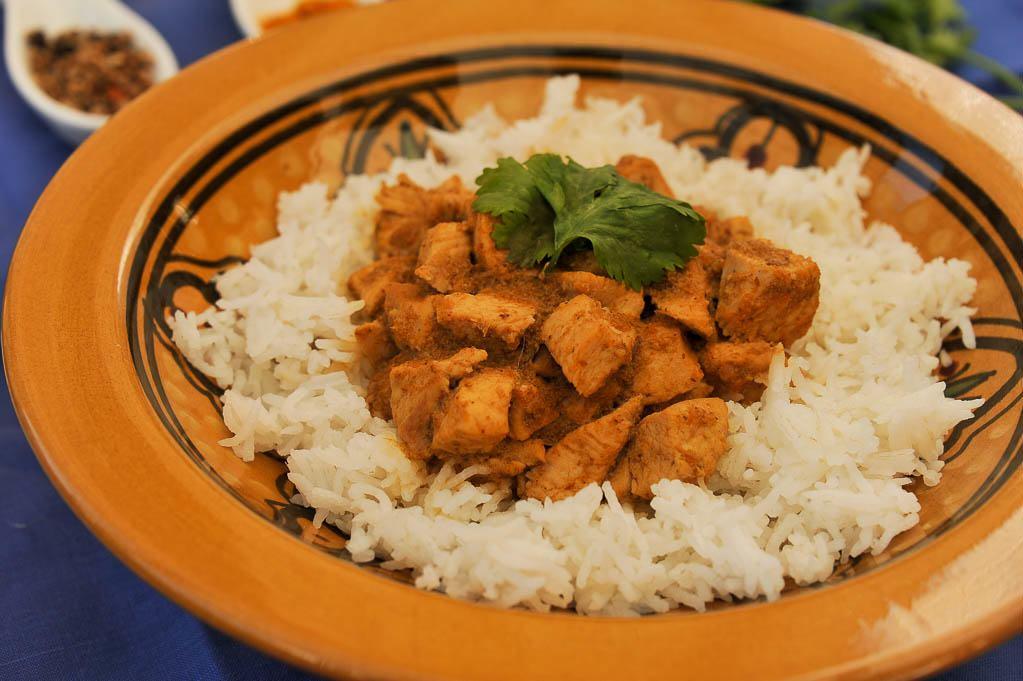 Un délicieux poulet au curry