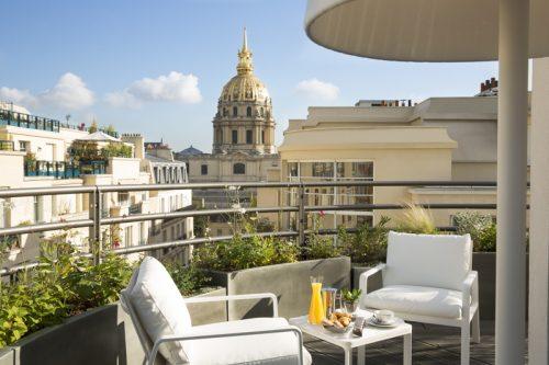 Hôtel Cinq Codet, suite terrasse