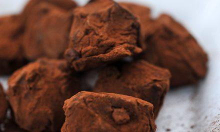 Truffes au chocolat et au caramel praliné Bonne Maman