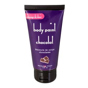 peinture corp chocolat