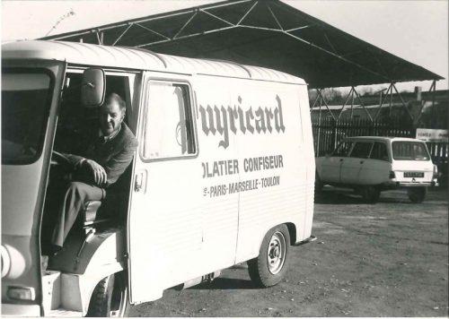 Chocolaterie Puyricard, la camionette