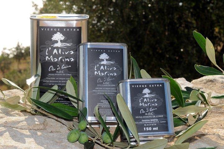 Aliva Marina, huile d'olive corse AOP