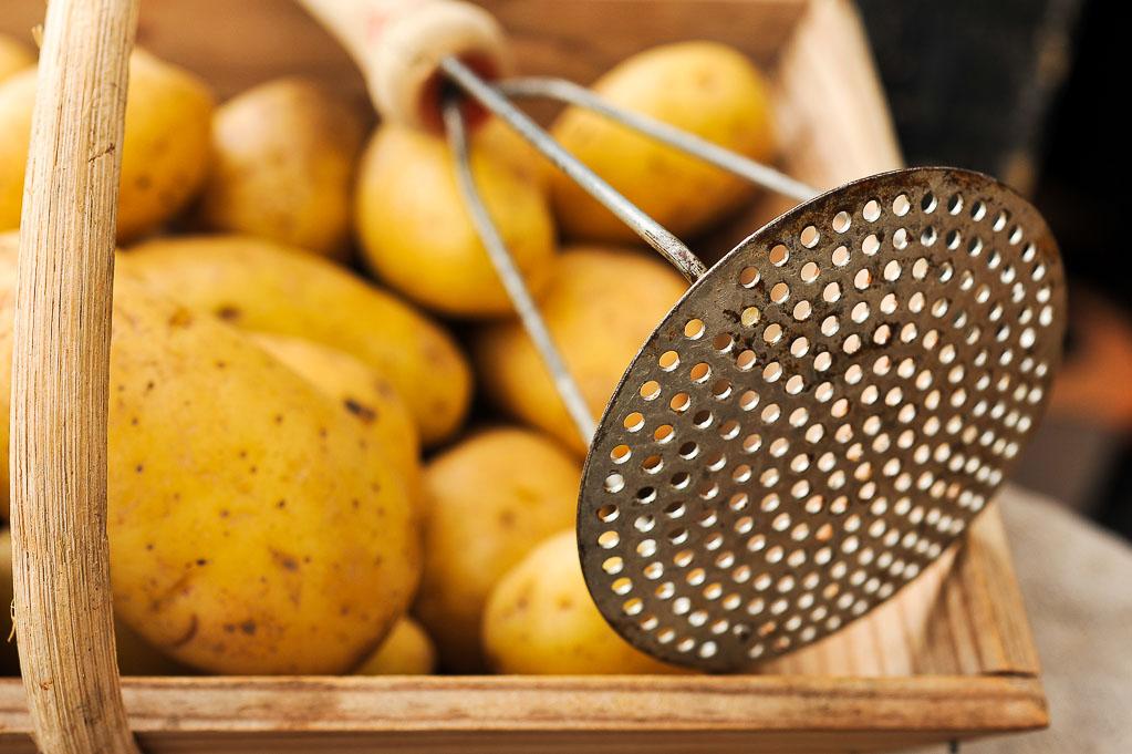 pomme de terre pompadour