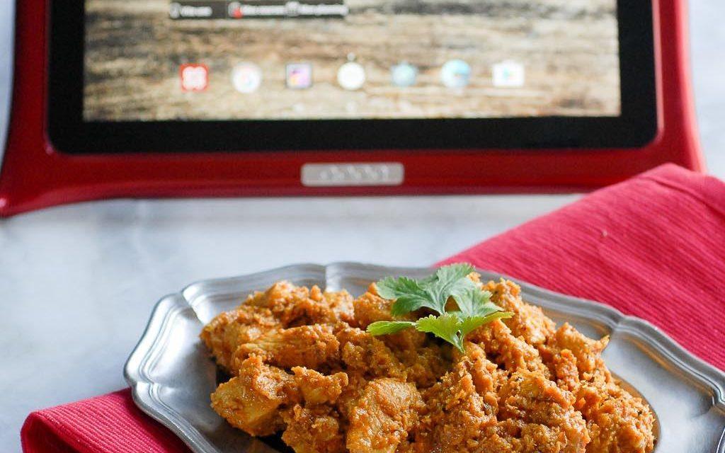 Poulet au curry et noix de coco