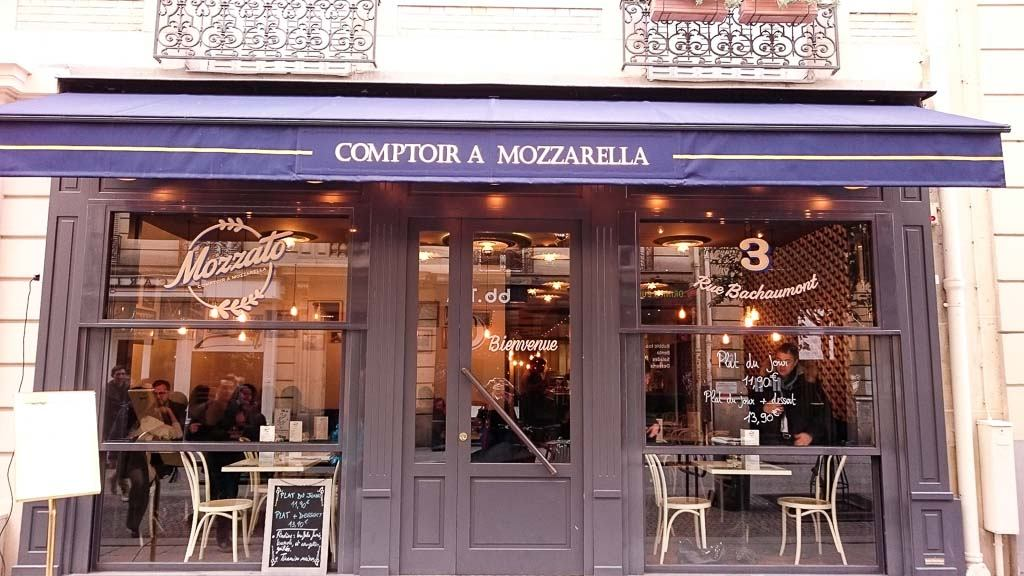 restaurant mozzarella paris