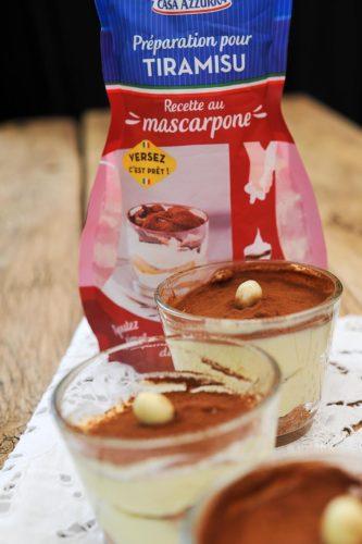 Tiramisu café avec la préparation Casa Azura