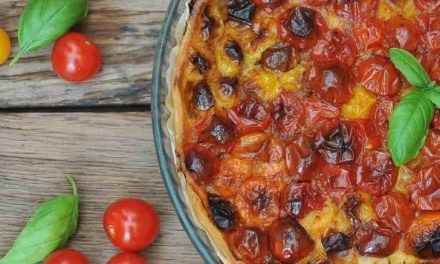 Tarte aux tomates cerises Savéol