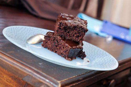 Délicieux Gâteau moelleux au chocolat et aux courgettes
