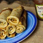 Crêpes Corse… Farine de châtaigne et pâte à tartiner aux noisettes de Corse