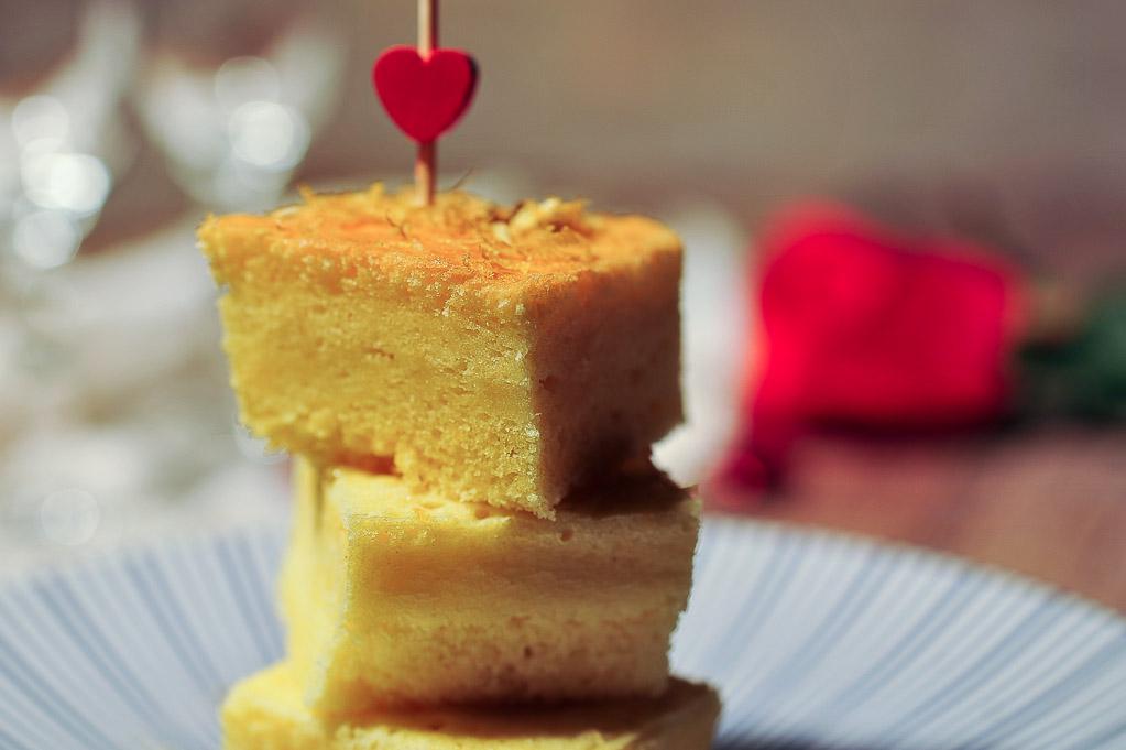 Moelleux et léger, le gâteau à la bergamote