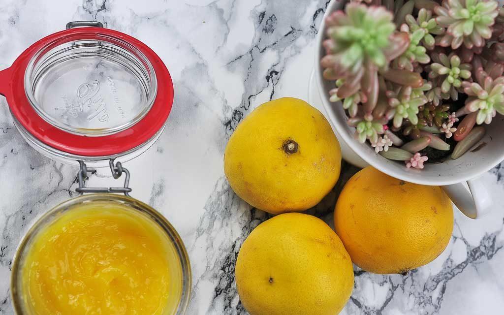 Bergamote curd sans beurre