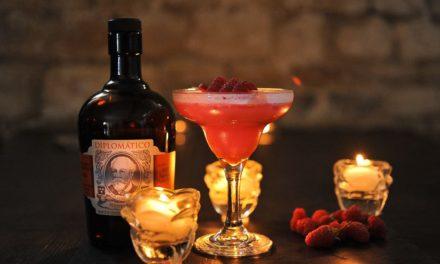 Cocktail : Framboizine au rhum Diplomatico