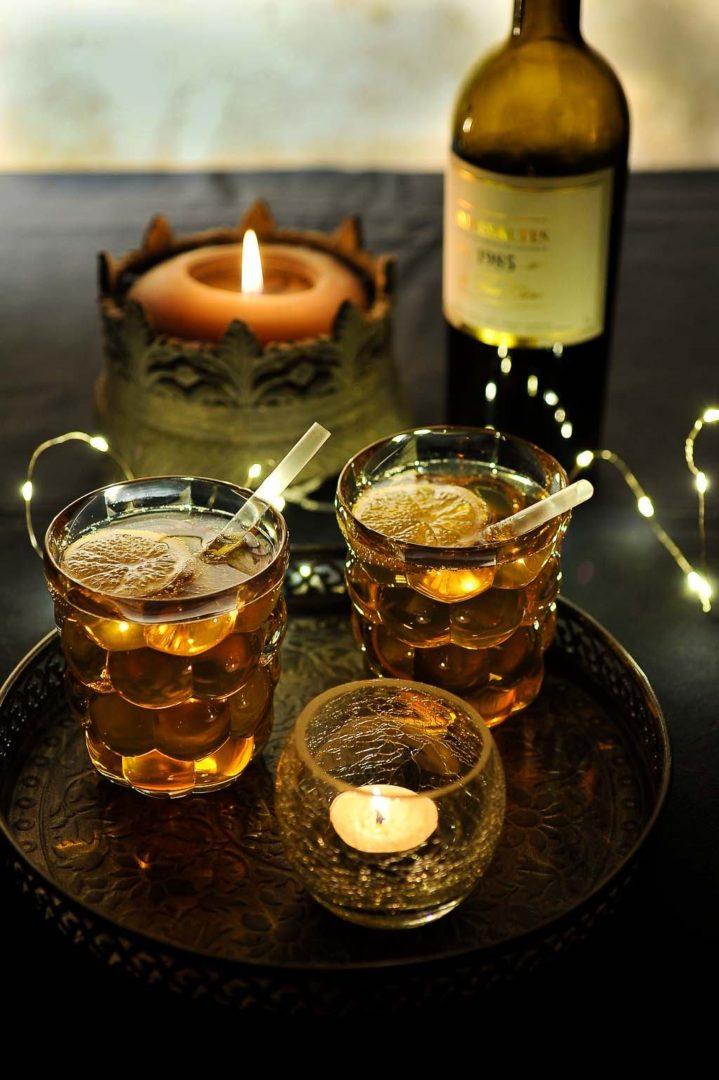Tonic et Rivesaltes pour un délicieux cocktail