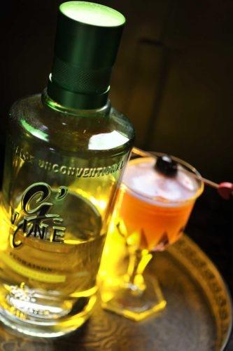 Le Sweet Pink, cocktail avec le gin G'Vine