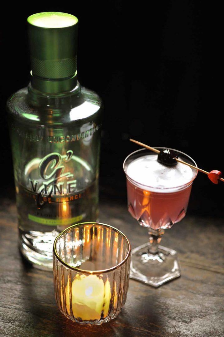 Le Sweet Pink, un délicieux cocktail au G'Vine