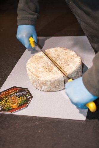Grand Frais découpe fromages