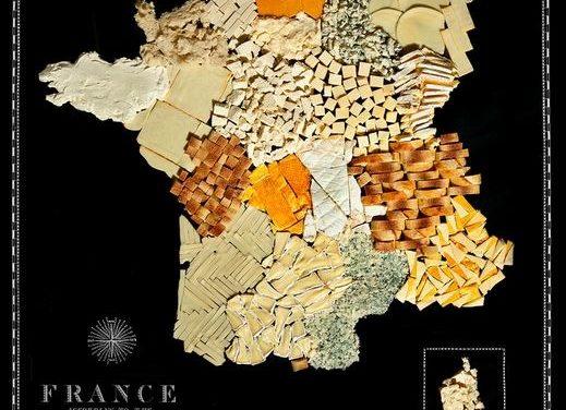 Des cartes géographiques gourmandes…