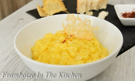 Risotto au parmesan