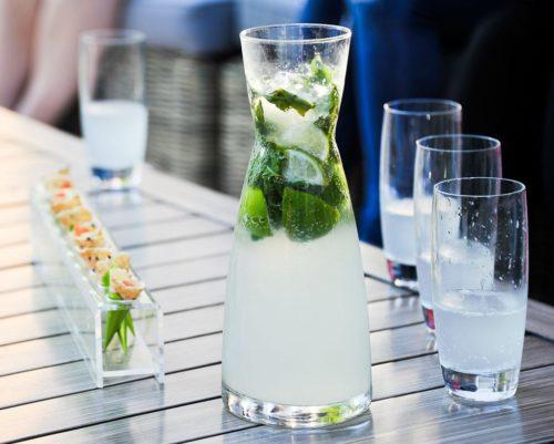 Mojito sans alcool et à l'eau de Vichy Célestins