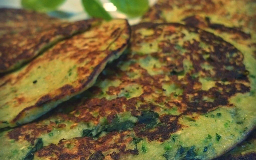 Blinis de courgettes super facile