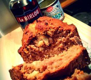 Cake à la châtaigne, pommes Granny Smith et Birlou