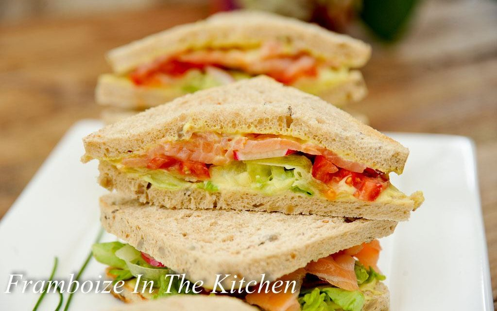 Club Sandwich Saumon Concombre