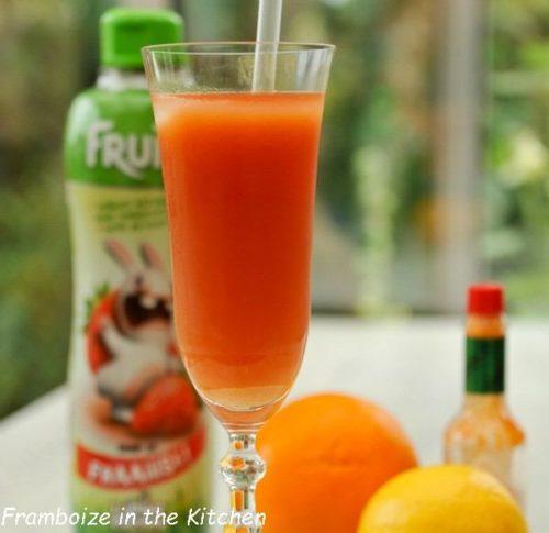 cocktail fraise agrume