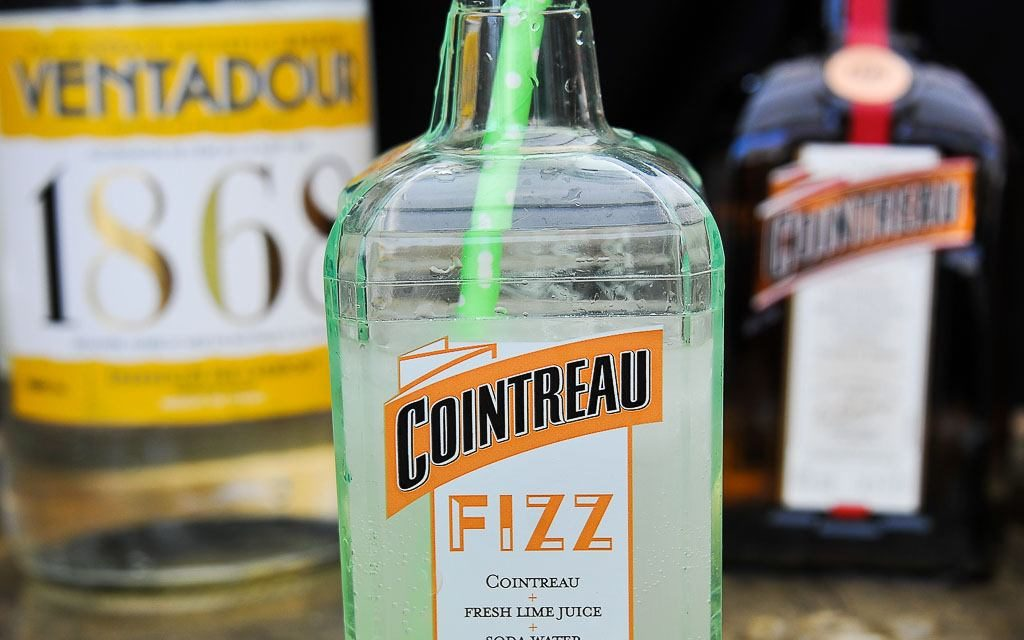 Cocktail : Cointreau Fizz