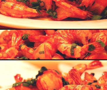 Crevettes thaïs