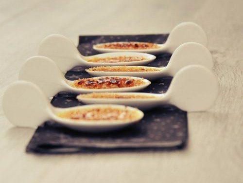 Cuillères au foie gras pour l'apéro