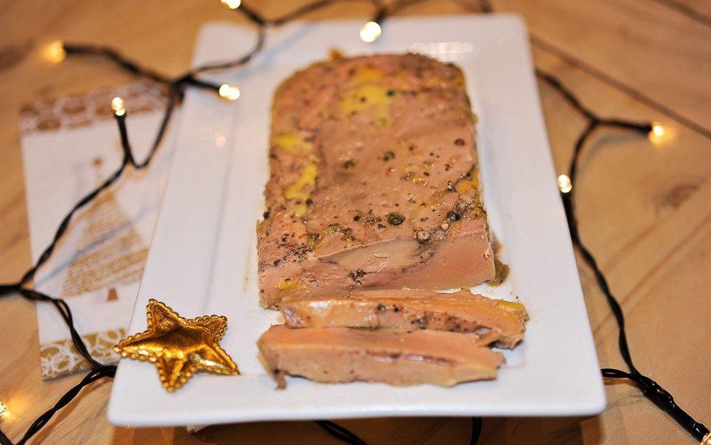 Foie gras maison au Rivesaltes et cuit à l'omnicuiseur