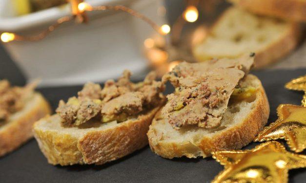 Foie gras au Rhum, jus de pomme Tentation et épices