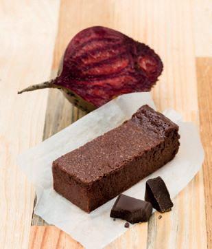 Fondant chocolat betterave