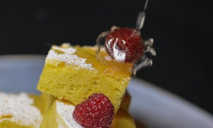 Cake with Bergamot gourmet version