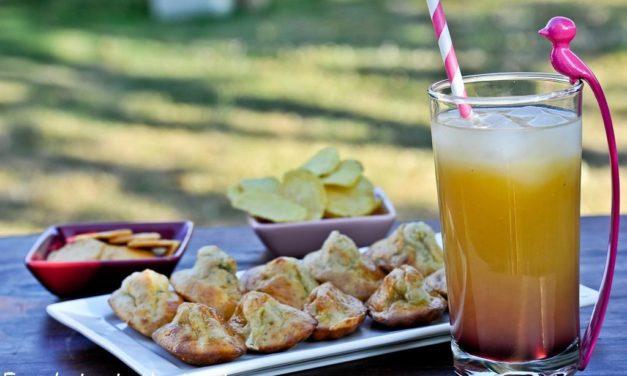 Madeleines au camembert AOP et confiture de figues Corse